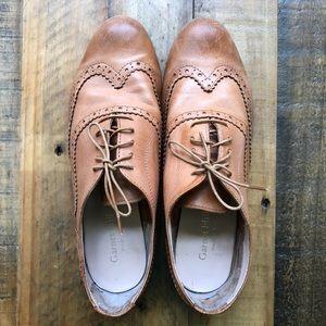 Garnet Hill Italian Leather Oxfords